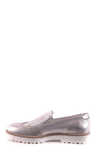 Hogan Women's MCBI148468O Silver Leather Slip On Sneakers comfortable cheap price explore cheap price TSxzKoed