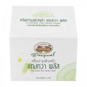 45g Cream - New Abhabibhubejhr Cucumber Plus Facial Cream 45g