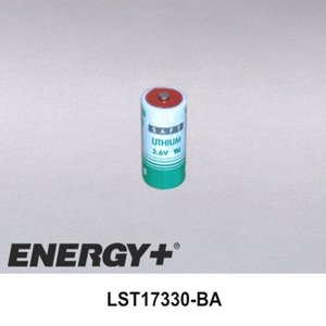 FedCo Batteries Compatible with Saft LST17330-BA 2-3 A Lithium Cell - 3.6V44; (2100mah 3 Cell)
