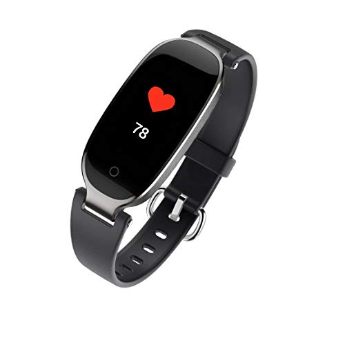Yezijin S3 Plus Women Smart Watch Waterproof Heart Rate Monitor Health Sports Wristband for Father Men Student Youth Teens Boyfriend Lover's Birthday