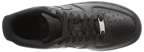 Femme '07 Nike black 038 Air Force Baskets Noir Black 1 qtwHXwxO