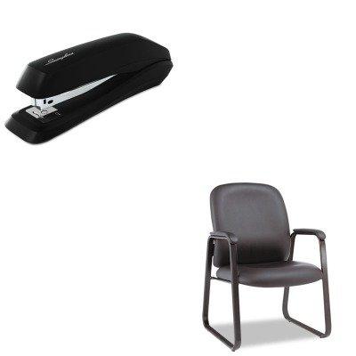 KITALEGE43LS10BSWI54501 - Value Kit - Best Genaro Guest Chair (ALEGE43LS10B) and Swingline Standard Strip Desk Stapler (SWI54501) by Best