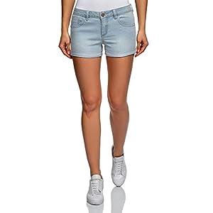 oodji Ultra Donna Pantaloncini in Jeans Basic 6 spesavip