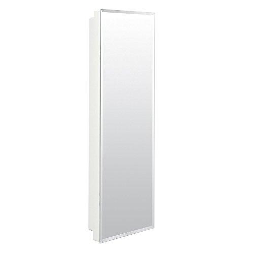 American Pride 9836WB1AR - clóset medicinal empotrable con borde biselado pulido espejo 12' x 36'