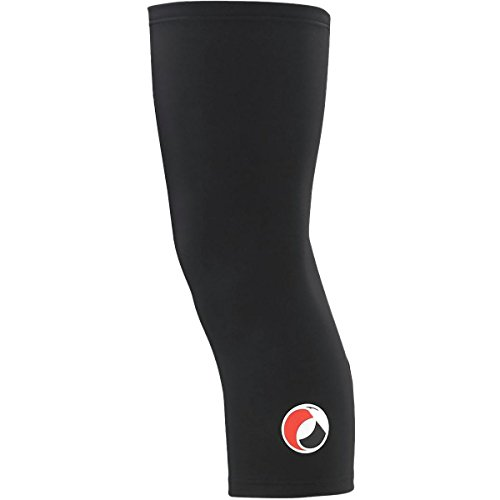 Capo Roubaix Knee Warmer Black, L/XL (Warmers Roubaix Knee)