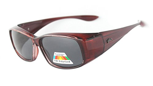 Fit Over Unisex Polarized Sunglasses to Wear Over Regular - Reading Polarised Glasses