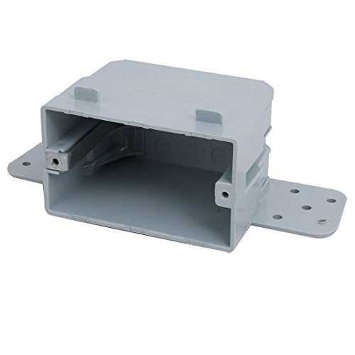 uxcell 165mmx55mmx70mm Single Gang Electrical Junction Outlet Box Enclosure Case ()