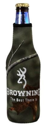 Browning Bottle Zipper Koozie Cooler product image