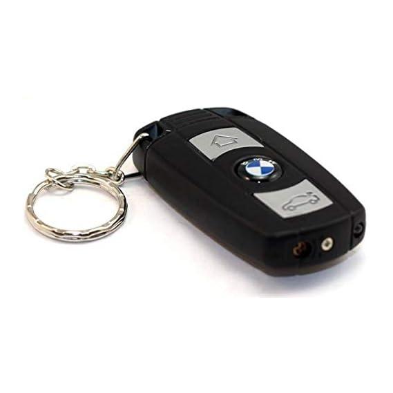BISMAADH DESIGNER KEY RING WITH TORCH Pocket Lighter (BLACK)