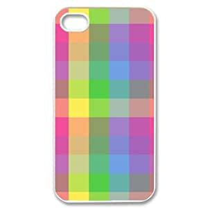 Personalized iPhone 4,4G,4S Case, Rainbow DIY Phone Case