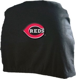 Cincinnati Reds Headrest Covers