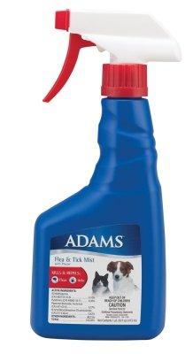 Adams Flea and Tick Dog/Cat Mist Non-Aerosol Spray, 16-Ounce, My Pet Supplies