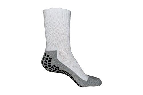 #1 Non Slip Socks, THE BEST Adult Hospital and Home Care Socks, Skid Resistant, Slipper Socks, Unisex Gripper Socks ()