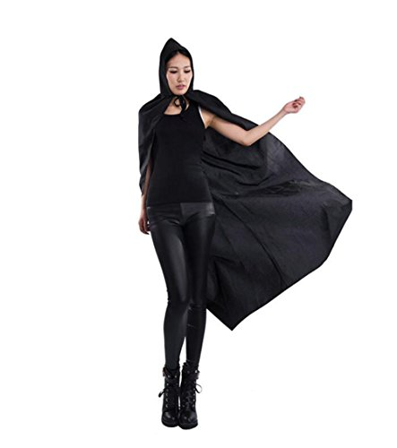 MARIAN Halloween costumes 2017 Unisex Hooded Cape Halloween Party Costume Sorcerer Cloak for Adult