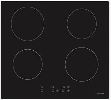 Placa de inducción HOGARCLICK HCKI4-6417M 6.400 W, cuatro zonas de cocción.