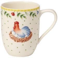 Villeroy & Boch Spring Awakening Rooster & Hen Mug (Mug Villeroy & Boch Crystal)