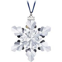 Swarovski Treasure Box - Swarovski 2008 Annual Full-Size Snowflake Christmas Ornament