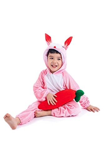 Astage Kids Animal Halloween Cosplay Onepiece Pajamas Outfit Homewear Robes Safari -