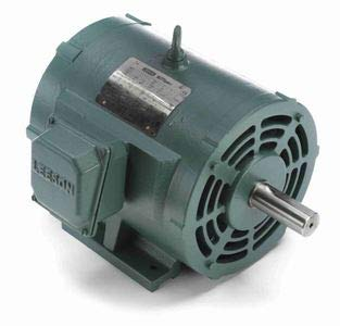 10hp 3510RPM 213T Frame 208-230/460 Volts Open Drip Leeson Electric on