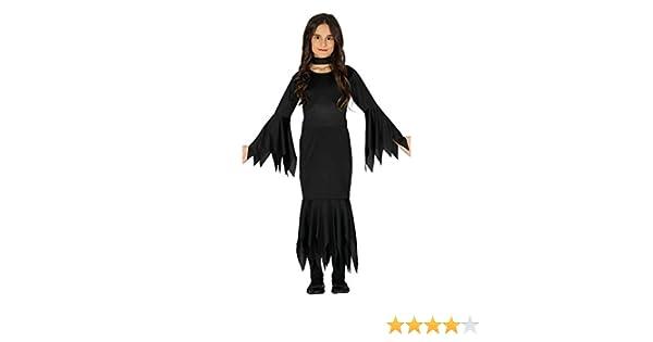 FIESTAS GUIRCA Disfraz de Bruja Morticia.: Amazon.es: Deportes y ...