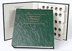 Littleton Jefferson Nickels 1938-1975 Album - Jefferson Nickel Mintage
