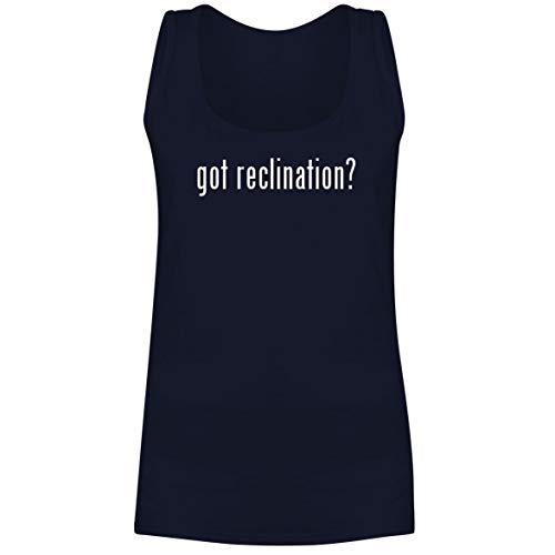 The Town Butler got Reclination? - A Soft & Comfortable Women's Tank Top, Navy, - Loveseat Rib Slipcover