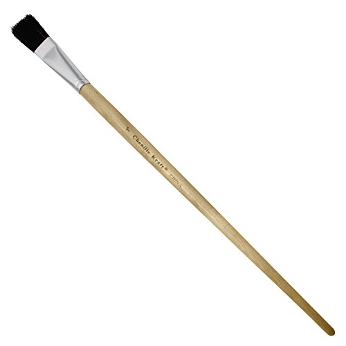 - Chenille Kraft CK-5938 Easel Brushes with Black Bristles, 5.75