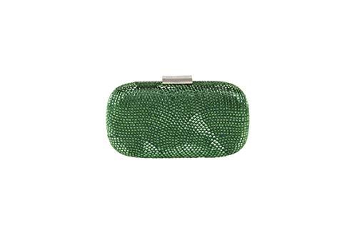 Vert Emerald Pochette Taille Eméraude Anna Aca Cecere Pour Unique Femme 001 xqwp1nPCB7