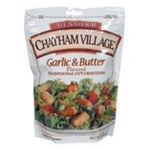 Chatham Village Garlic & Butter Croutons (12x5 OZ) by Chatham Village