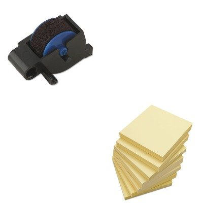 - Value Kit - Dymo Replacement Ink Roller for DATE MARK Electronic Date/Time Stamper (DYM47001) and Universal Standard Self-Stick Notes (UNV35668) ()
