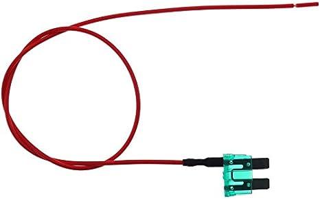 Sicherung Mit Abgriff 30a Stromdieb Kabel Auto Flachsicherung Abzweig Verteiler