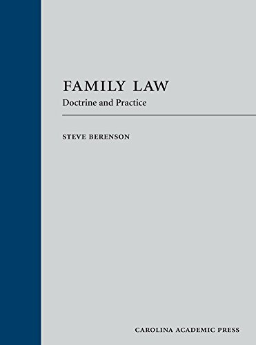 Family Law: Doctrine and Practice