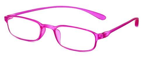 (Calabria Reading Glasses - 718 Flexie in Fuchsia (+1.25))