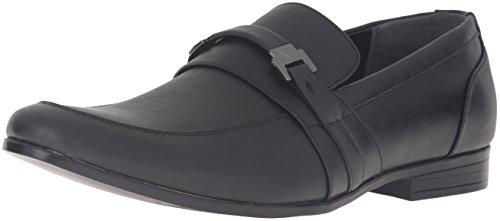 Guess Men's GREG2 Slip-On Loafer, Black, 12 Medium US (Guess Men Dress Shoes)