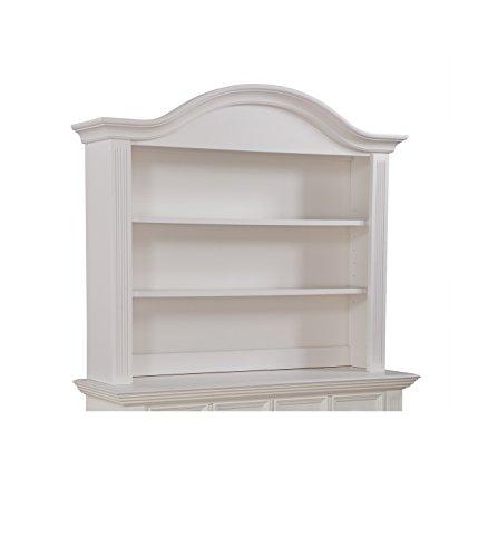 Munire Kingsley Keyport Hutch, White (Munire Dresser Hutch)