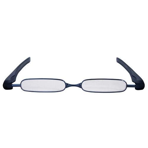 Podreader 휴대용 패션 시니어 글래스 안경 돋보기 청 +2.0