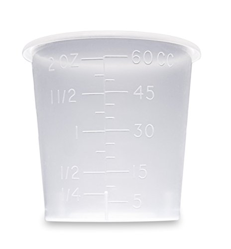 2 Ounce Medicine Cups - Thick Plastic Disposable Medicine Cups (150)
