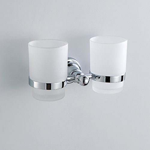 Comfort's Home N16508 Bathroom Tumbler with Holder, - Mount Tumbler Wall Holder