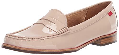 MARC JOSEPH NEW YORK Women's East Village Loafer, Nude Patent, 8.5 B(M) US
