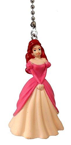 Disney Classic Disney PRINCESS movie assorted Character Ceiling FAN PULL light chain (Ariel)