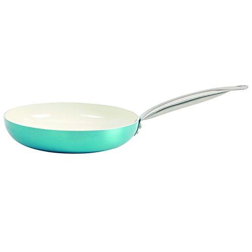 Oster Montecielo 9pc Aluminum Cookware Set, Turquoise