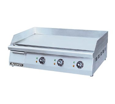 "Admiral Craft GRID-30 30"" Electric Countertop Griddle, 220v"