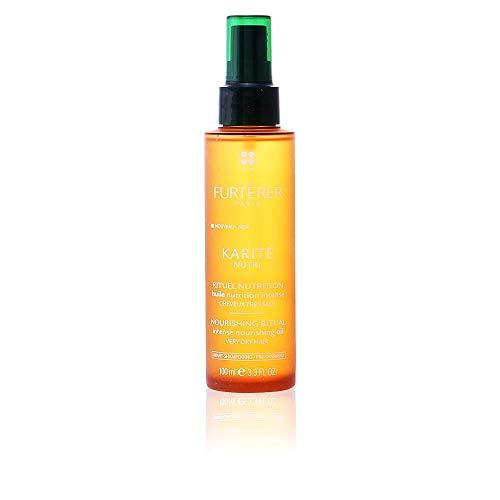 - Rene Furterer KARITE NUTRI Intense Nourishing Oil, Pre-Shampoo Treatment, Very Dry Damaged Hair, 3.3 oz.