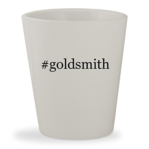 #goldsmith - White Hashtag Ceramic 1.5oz Shot - Goldsmith Sunglasses