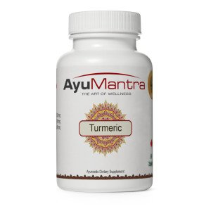 AyuMantra's Turmeric- Packing: 900 mg, 60 Tablets - Antioxidant-Rich, Promotes Health and Well-being
