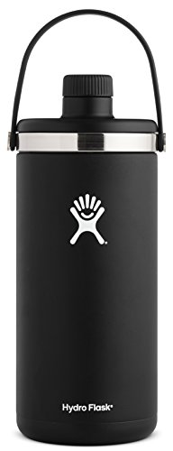 Hydro Flask 128 oz 1 gal Double Wall Vacuum Insulated Stainless Steel Leak Proof Oasis Water Cooler / Thermos / Jug, Black by Hydro Flask