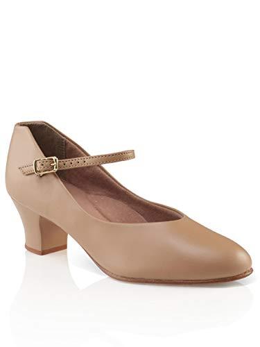 Capezio Jr. Footlight Character Shoe - Size 11.5 M US, Caramel