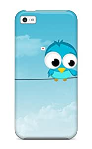 RonaldChadLund Snap On Hard Case Cover Cute Protector For Iphone 5c