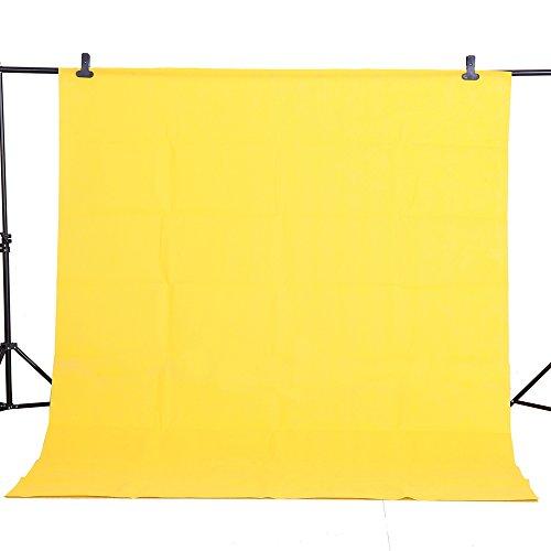 Photography Backdrop Background Screen Photo Studio Non Woven Fabric Cloth 5x10Ft / 1.6x3m 10 Colors (orange)