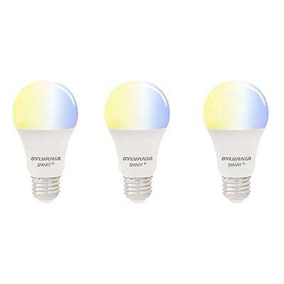 Sylvania Smart ZigBee 60-Watt A19 Tunable White LED Bulb (3 Pack)